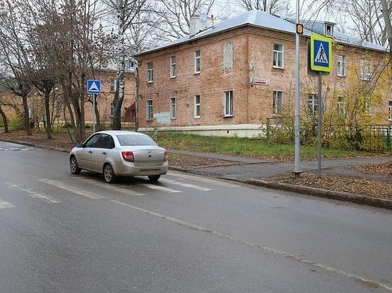 Переходы возле школ и детсадов дополнительно обезопасили в Ижевске