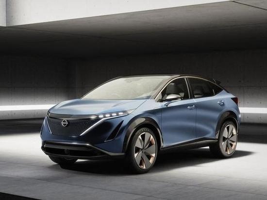 Nissan показал электрический кроссовер для России