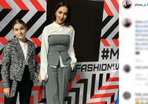 Дочь Алсу Микелла Абрамова приняла участие в модном показе вещей сезона весна/лето, который прошел в Москве