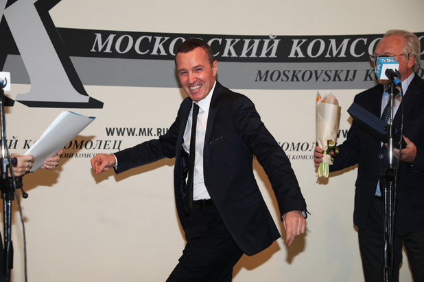 Меньшиков, Машков и Гуськов засмущали Орбакайте