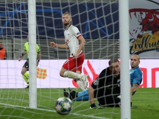 «Зениту» не хватило судьи: питерцы проиграли в Лиге чемпионов