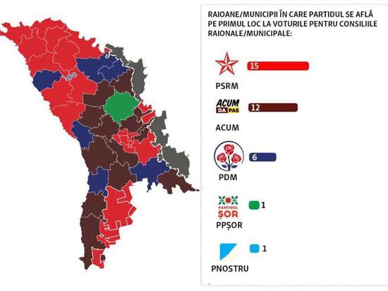 Власть на местах - под знаком ПСРМ