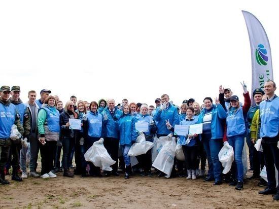 Тысячи волонтеров приняли участие в марафоне «Чистые берега Сибири»