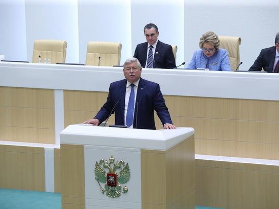 Сергей Жвачкин попросил оставлять 50% собранных налогов в Томской области