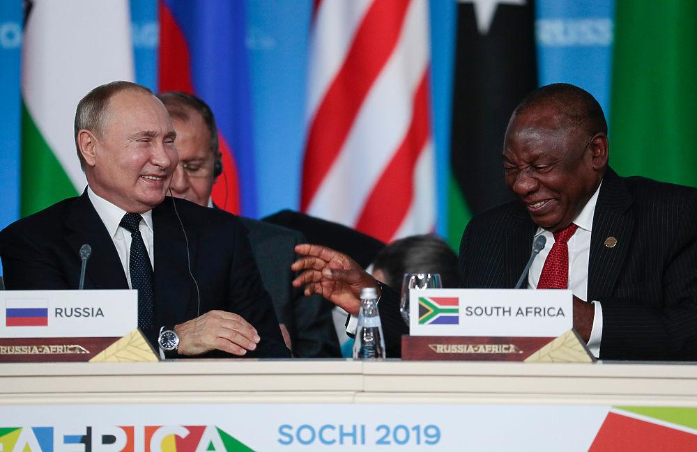 """Путин на саммите """"Россия-Африка"""" в Сочи: шутки президента"""