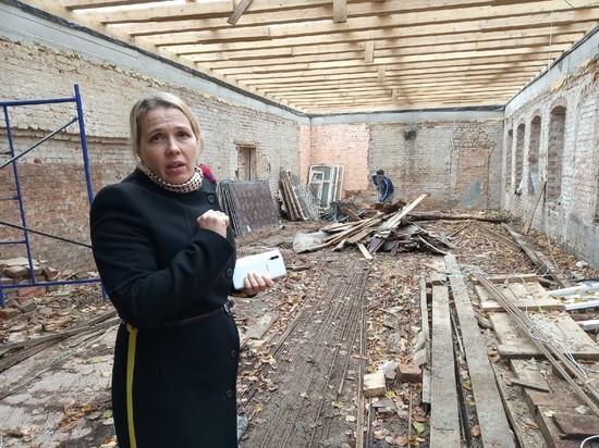 В Одоеве ремонтируют краеведческий музей