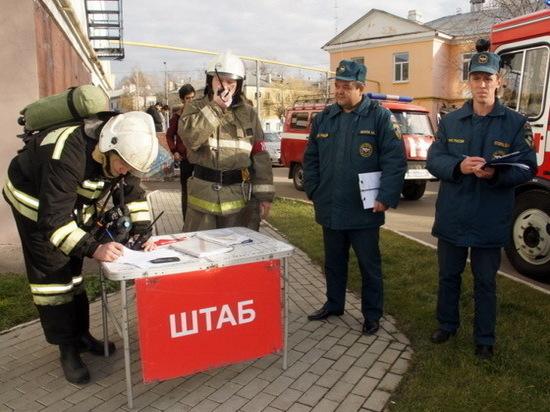 Пожарные Йошкар-Олы «спасли» жильцов университетского общежития