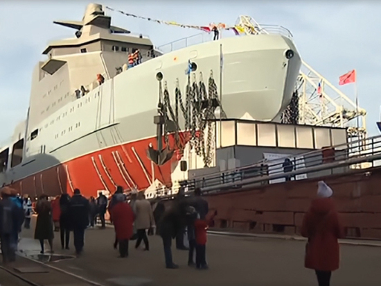 Боевой ледокол «сможет нести разнообразное оружие»