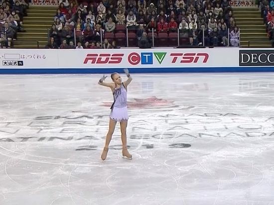 Российская фигуристка Трусова победила на Skate Canada