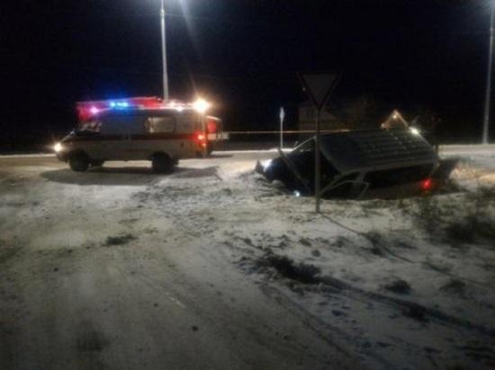 Очередное ДТП на дороге «Усть-Вага – Ядриха», есть пострадавшие