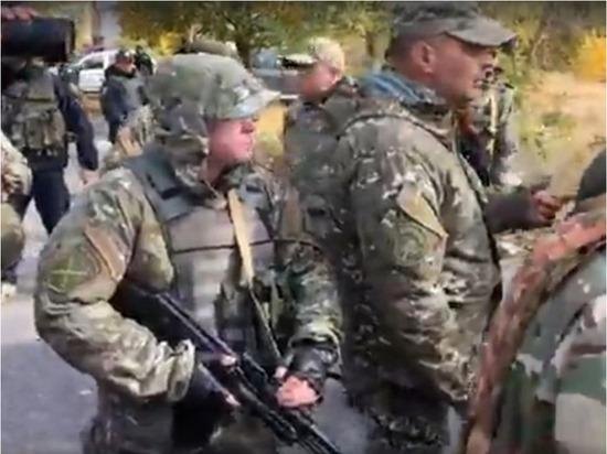 Украинские националисты в Донбассе разъяснили ситуацию с оружием