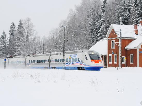 Упавшее в Финляндии дерево остановило два поезда «Аллегро»
