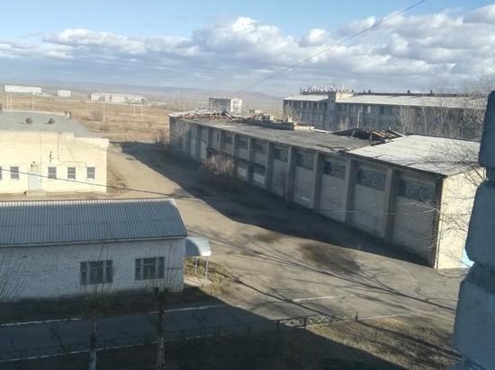 Ветром сорвало крышу с колледжа Агробизнеса в Чите