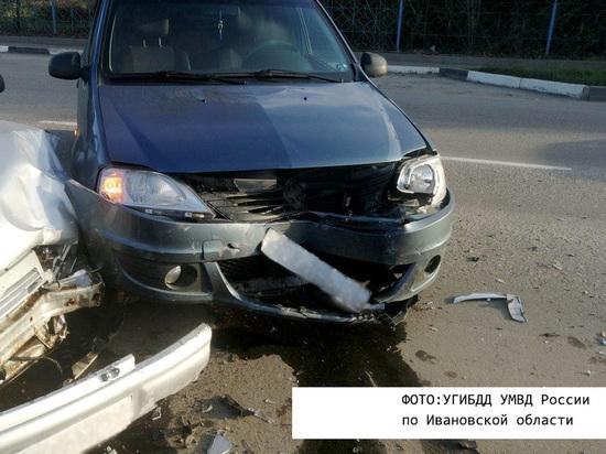 За сутки в Ивановской области произошли пять аварий
