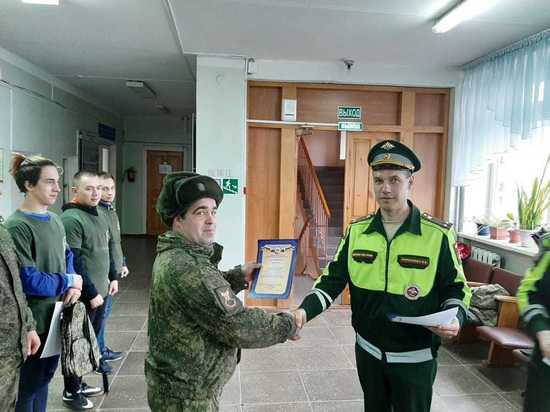 Выбран лучший водитель Владимирского гарнизона