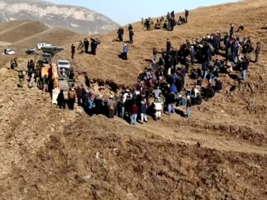 Для поддержания правопорядка в горное село Меусиша прислали Росгвардию