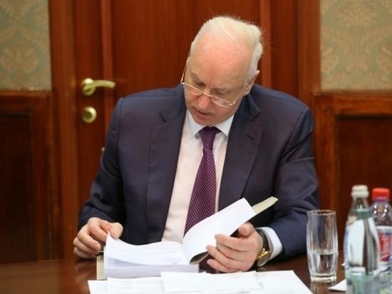 Бастрыкин поручил проверить жалобу из Ставрополья после сюжета на ТВ