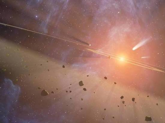 На первой межзвездной комете обнаружили воду