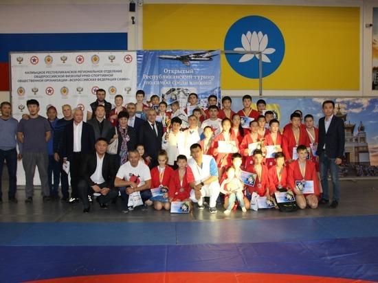 В калмыцкой столице прошел престижный турнир по самбо