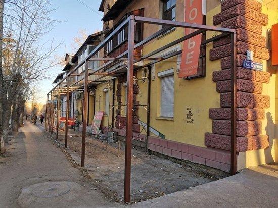 Бизнесмена в Чите не остановил запрет на пристройку к зданию в полтротуара