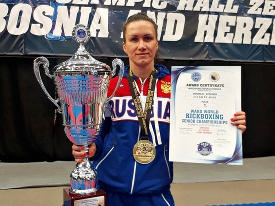 Ксения Мирошниченко стала лучшим калужским спортсменом октября