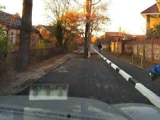 Жители Серпухова нашли необычный способ освободить улицу от автомобилей