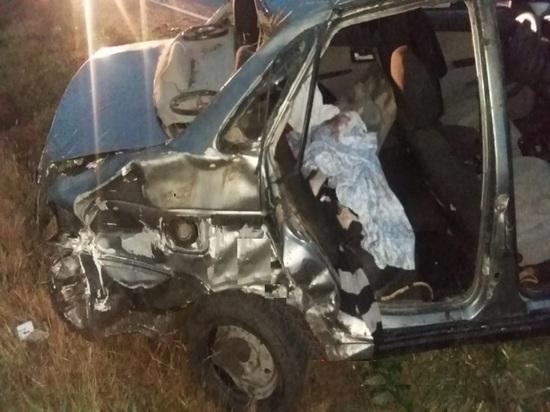 ГИБДД: на Кубани пьяный водитель без прав протаранил ГАЗ и опрокинул «Приору» в кювет