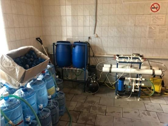 В Петербурге компания продавала горожанам опасную для жизни воду