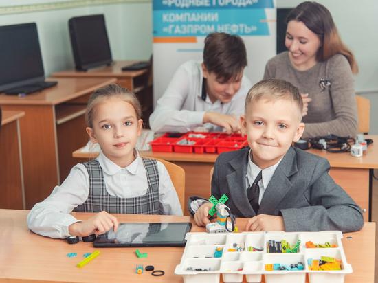 Омский НПЗ развивает дополнительное инженерное образование школьников