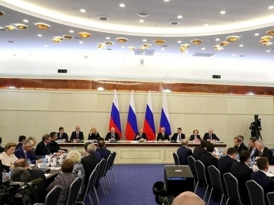 Президент РФ провел совещание по проблемам здравоохранения