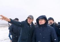 Куйвашев представил министру Якушеву проекты микрорайонов Солнечный и Академический