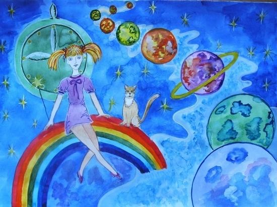 В Иванове пройдет выставка детского рисунка, посвященная космосу