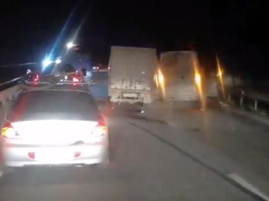 Массовое ДТП произошло на трассе в Калужской области