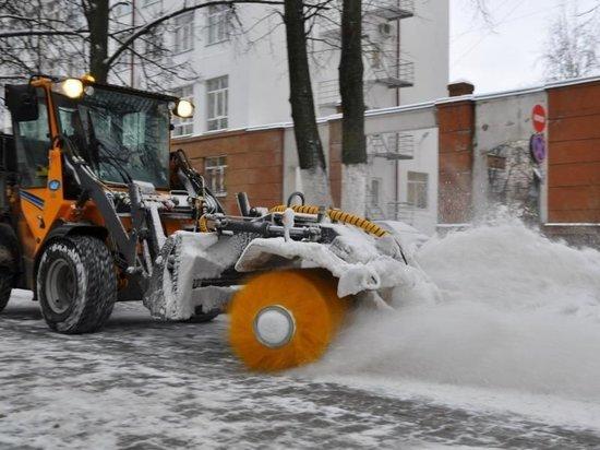 В первый день ноября на уборку улиц Иванова вышли двадцать пять машин
