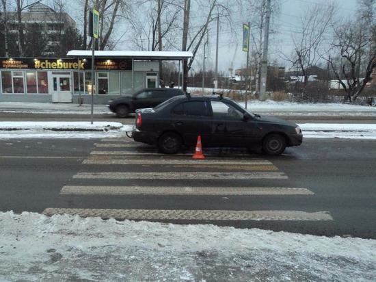 В Архангельске водитель сбил женщину на пешеходном переходе