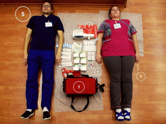 Врачи Елизаветинской больницы присоединились к флешмобу TetrisСhallenge