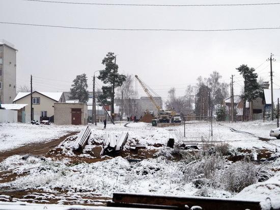 В Звенигове начнут монтаж насосной станции водоотведения