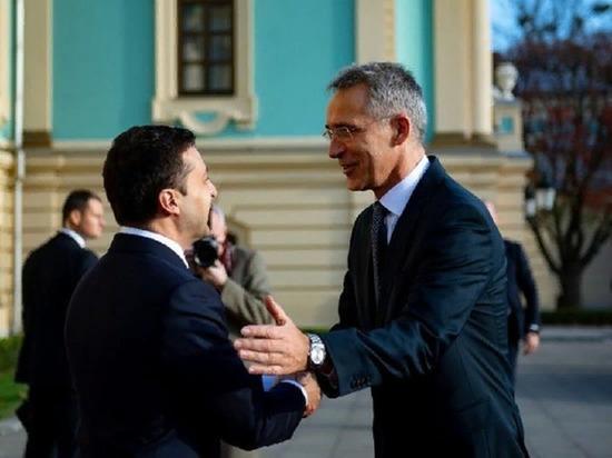 Столтенберг сообщил, что вступление Украины в НАТО пока не рассматривается