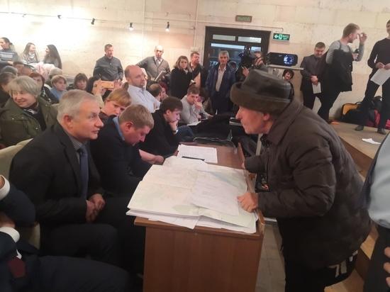 Воронежцы едва не сорвали обсуждение новой маршрутной сети
