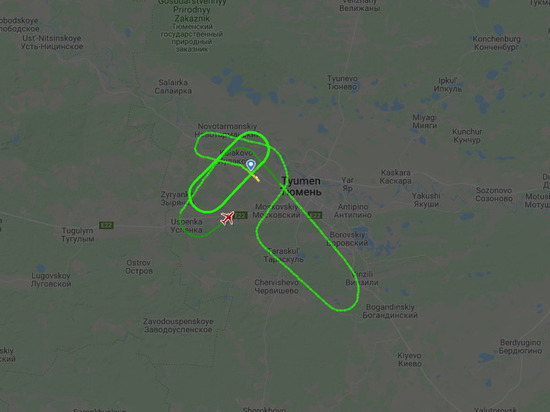 У самолета авиакомпании «Ямал» отказал двигатель над Тюменью