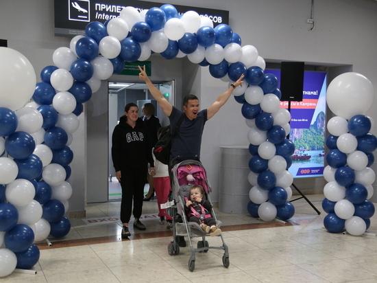 Трехмиллионный пассажир приземлился в уфимском аэропорту