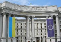 МИД Украины вызвал посла Франции из-за высказываний Макрона касательно