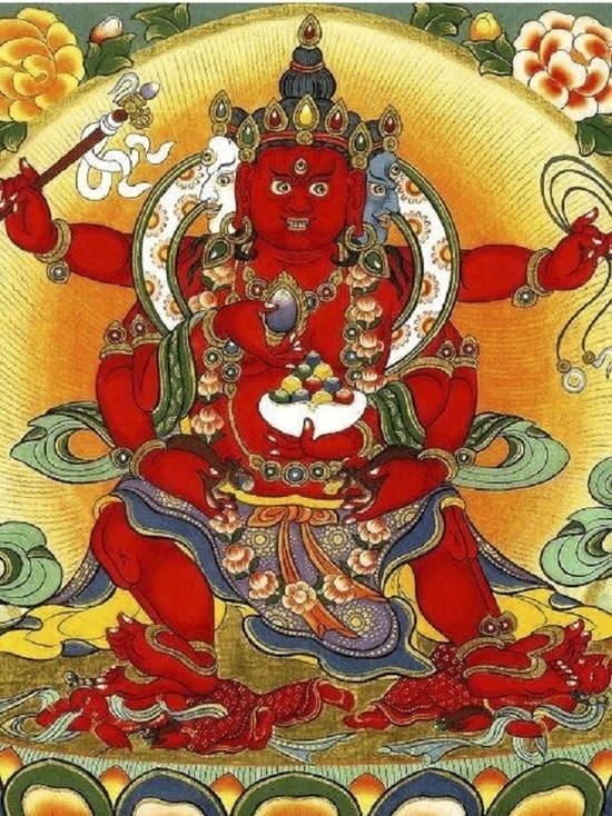 В районе Калмыкии появится мандала божества богатства Дзамбалы
