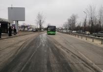 Пьяный водитель иномарки врезался в автобус в Иркутске
