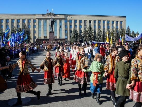 Праздничное шествие и ярмарка пройдут в Ставрополе 4 ноября