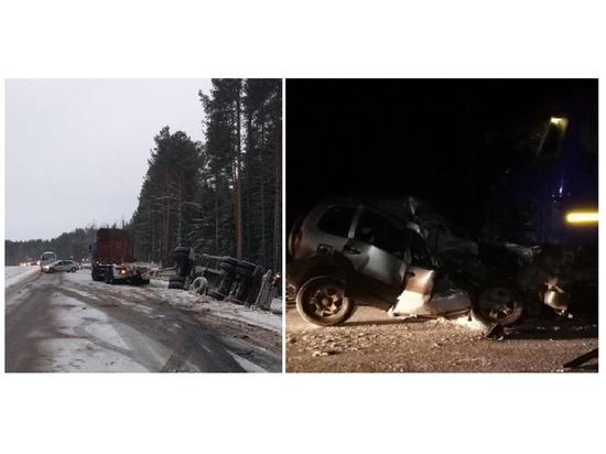 Смерть на трассе: жуткая автокатастрофа под Котласом