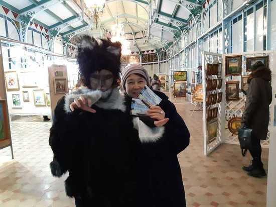 В Железноводске гости «Ночи искусств» встретили Курортного кота