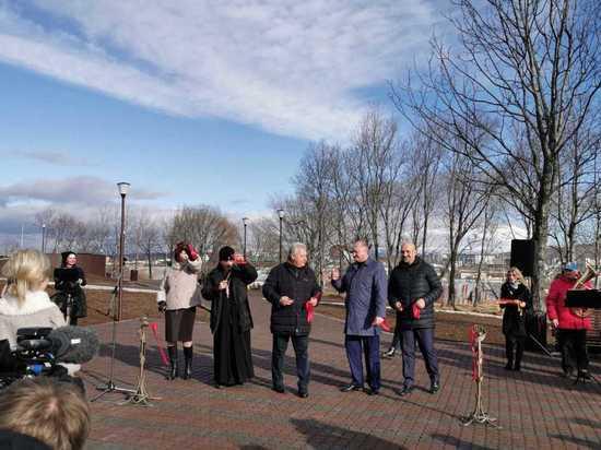 Жителям Петропавловска подарили еще один парк
