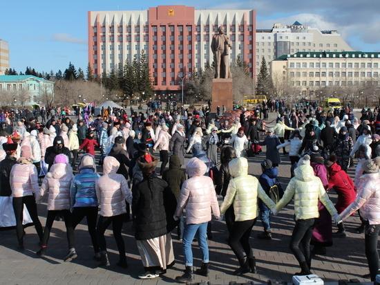 День народного единства собрал 3,5 тысячи забайкальцев в центре Читы