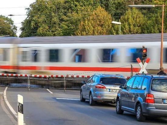 В Германии перестроят железнодорожные переезды